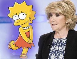 Más de la mitad de los españoles identifican a Esperanza Aguirre con el personaje de Lisa Simpson