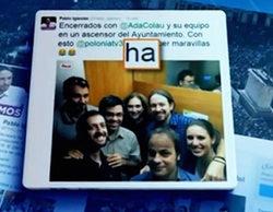 """La 1 da """"lecciones"""" de ortografía a Pablo Iglesias en el Telediario"""