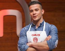 Carlos, ganador de la tercera edición de 'MasterChef'