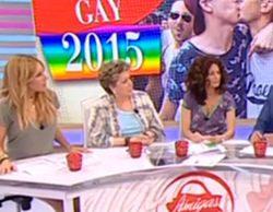 Enfado en las redes sociales por el debate sobre la fiesta del Orgullo Gay en 'Amigas y conocidas'