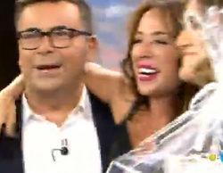 """La efusividad de María Patiño en 'Sálvame deluxe' desata los comentarios en la red: """"¿Está borracha?"""""""