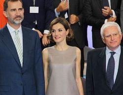 Los Reyes, Felipe y Letizia, visitan Mediaset España con motivo de su 25 aniversario