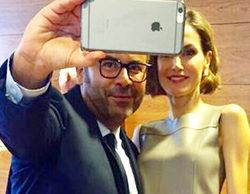 Jorge Javier Vázquez intima con la reina: 'Letizia, mi nueva mejor amiga'