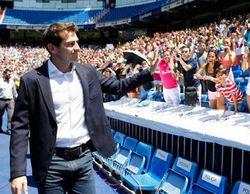 """Real Madrid TV censura los gritos """"Florentino dimisión"""" durante la despedida a Iker Casillas"""