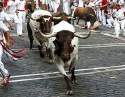 Impresionante la audiencia de los encierros de San Fermín (61,6%) aunque baja con respecto a 2014 (67,3%)