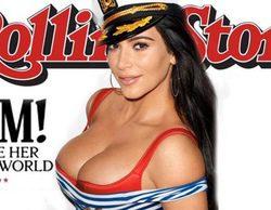 Llaman prostituta a Kim Kardashian tras protagonizar la portada de la revista Rolling Stone