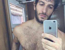 """Quim Gutiérrez luce tableta de abdominales en Instagram: """"Me he mojado otra vez"""""""