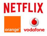Orange y Vodafone, interesados en Netflix para competir con Movistar+