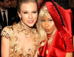 Nicki Minaj y Taylor Swift se enzarzan en una pelea de gatas después de que la rapera no fuese nominada en los MTV VMA