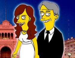 Los Kirchner aparecerán como presidentes corruptos en un capítulo de 'Los Simpson'