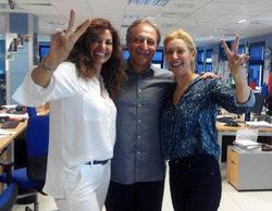 Teresa Viejo se deja aconsejar por Mariló Montero antes de incorporarse a 'La mañana'