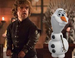 """Peter Dinklage (Tyrion Lannister) bromea sobre la conexión entre 'Juego de tronos' y """"Frozen"""""""