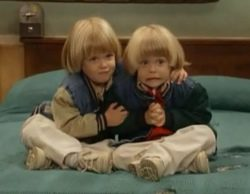 Así lucen los gemelos Alex y Nicky en el set de 'Fuller House', 20 años después del final de 'Padres forzosos'