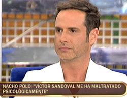 """Nacho Polo: """"Si fuéramos una pareja heterosexual, Víctor Sandoval estaría en la cárcel"""""""
