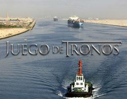 Egipto usa la sintonía de 'Juego de Tronos' para retransmitir la reapertura del Canal de Suez
