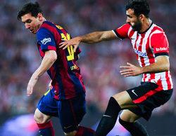 La ida de la Supercopa de España arrasa en Telecinco con un gran 30,5%