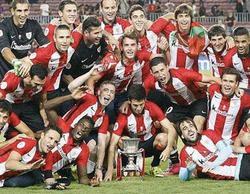 El Athletic gana la Supercopa de España ante casi 5,8 millones (38,3%) en Telecinco