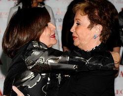 """Concha Velasco recuerda a Lina Morgan: """"Ha sido una luchadora nata, siempre trabajando"""""""