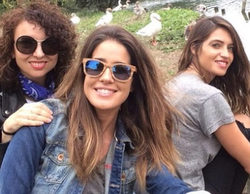Sara Carbonero se reencuentra en Oporto con sus compañeras de Telecinco
