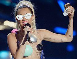 Miley desnuda, peleas de gatas y lágrimas de Justin Bieber en los MTV VMA's 2015