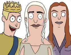 Los personajes de 'Juego de tronos' se transforman en dibujos al estilo 'Bob's Burgers'