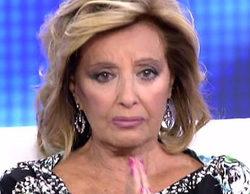 María Teresa Campos rompe a llorar en 'QTTF' por la ruptura de su hija Terelu Campos