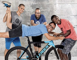 El Terrat produce 'Be Bike' para A&E, un programa sobre transformaciones de bicicletas