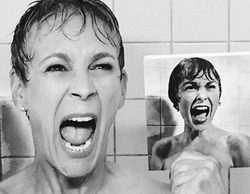"Jamie Lee Curtis recrea la escena de su madre en ""Psicosis"" para 'Scream Queens'"