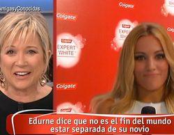 """Inés Ballester se marca un """"Mariló Montero"""" con Edurne: """"¿Solo te ríes si hay por medio un taloncito?"""""""