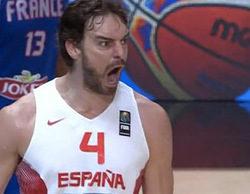 El España-Francia del Eurobasket se dispara en la prórroga con más de 5,7 millones (29,2%)