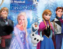 """Leticia Sabater se convierte en Elsa de """"Frozen"""" en el musical """"Fronze"""""""