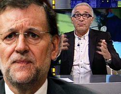"""El tirón de orejas de Pablo Motos y Xavier Sardà a Rajoy en 'El hormiguero': """"Esto es como para que dimita"""""""