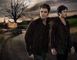 Así lucen Damon y Stefan en el póster de la séptima temporada de 'Crónicas Vampíricas'
