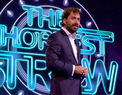 Antonio Garrido graba el piloto del concurso 'El palo más corto'