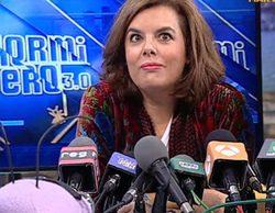 Soraya Sáenz de Santamaría en 'El hormiguero': las fiestas de la vicepresidenta, el plasma de Rajoy y el hachazo a Aznar