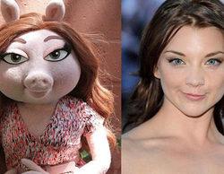 Natalie Dormer ('Game of Thrones') responde a quienes la comparan con la cerdita Denise ('The Muppets')