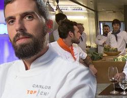 """El duro ataque de Carlos ('Top Chef 2') a un concursante de 'Top Chef 3': """"Alguien se pasó con el azúcar glass"""""""