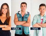Ivy, Vera y Han, nuevos nominados de 'Gran Hermano 16'
