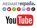 Mediaset España y Youtube hacen las paces tras 8 años de contencioso