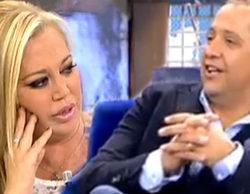 """El tenso cara a cara entre Belén Esteban y su supuesto primer novio: """"Belén lleva vendiendo un polvo 20 años"""""""