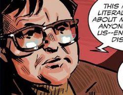 """Francisco Marhuenda protagoniza un """"cameo"""" en el último cómic de """"Capitán América"""""""