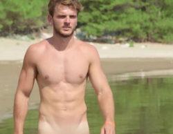 Las imágenes más calientes del desnudo de Edoardo ('GH 14') en la adaptación italiana de 'Adán y Eva'