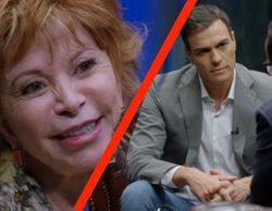 Pedro Sánchez e Isabel Allende se sentarán frente a Risto Mejide en el próximo 'Al rincón'