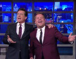 Stephen Colbert y James Corden conducirán la noche de CBS después de la Super Bowl 2016