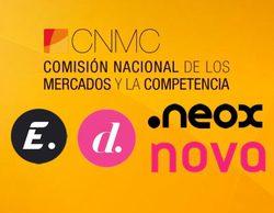 La CNMC multa a Atresmedia y Mediaset con 300.000 euros por las interrupciones publicitarias en Neox, Nova, Divinity y Energy