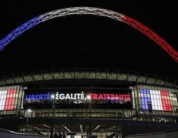 TVE sorprende y emite esta noche el partido Inglaterra-Francia para homenajear a las víctimas de París