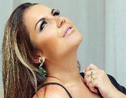Katia Aveiro luce transparencias en la portada de una revista portuguesa