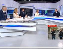 """TVE alarga 'Los desayunos' y Cuatro adelanta sus """"mañanas"""" para informar sobre la última hora en Saint-Denis"""