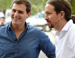 Pablo Iglesias y Albert Rivera, próxima parada: '¡Qué tiempo tan feliz!'