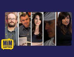 Borja Cobeaga, Lorenzo Silva, Isabel Vázquez, Rodolfo Montero y Marian Álvarez, jurado de los Premios MIM